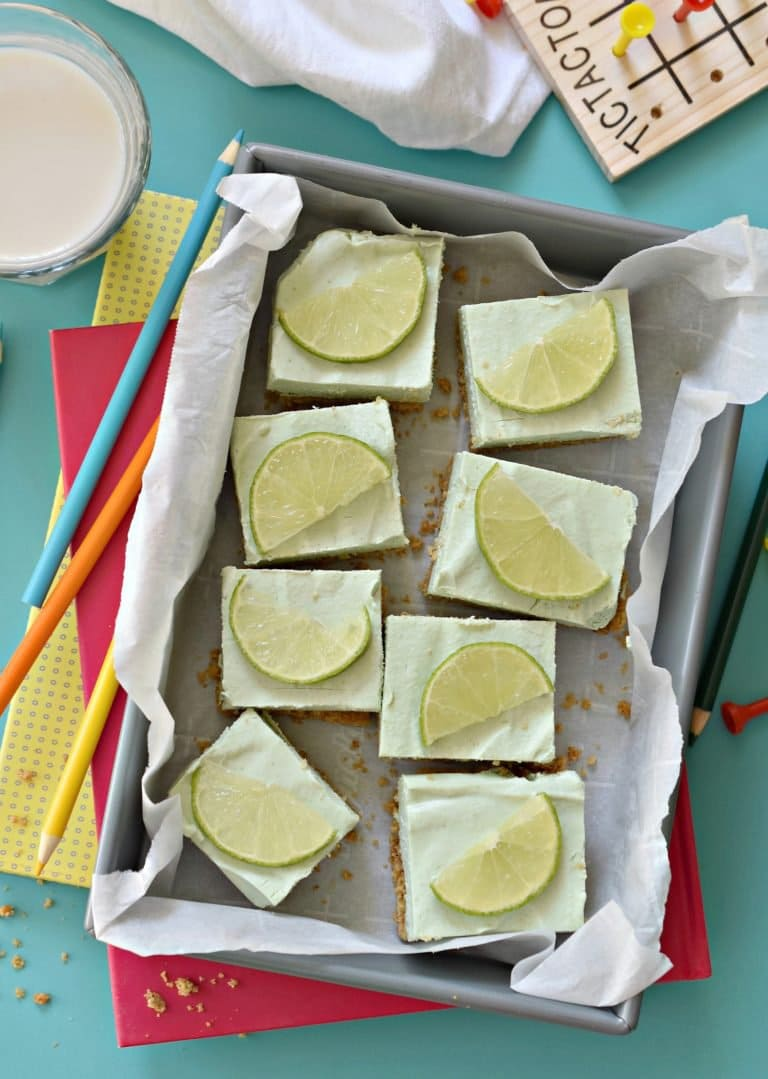 Key Lime Pie Bars | Fork and Beans