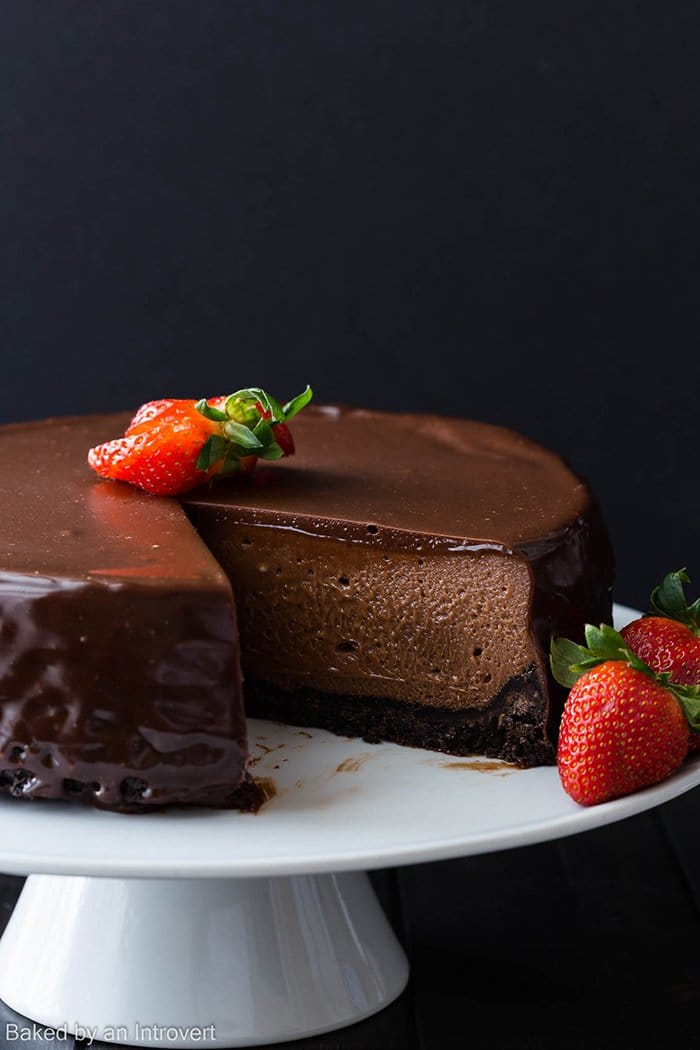 Nutella Cheesecake | Baked by an Introvert