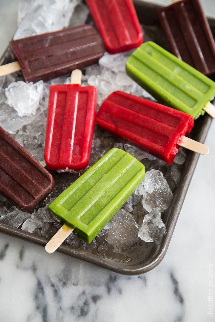 Smoothie Popsicles | The Little Epicurean