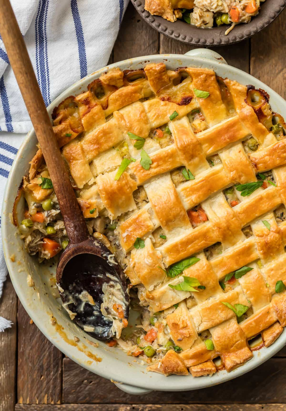 Chicken Pot Pie Casserole Recipe Video Easy Chicken Pot Pie