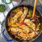 Cilantro Chicken Stir-Fry