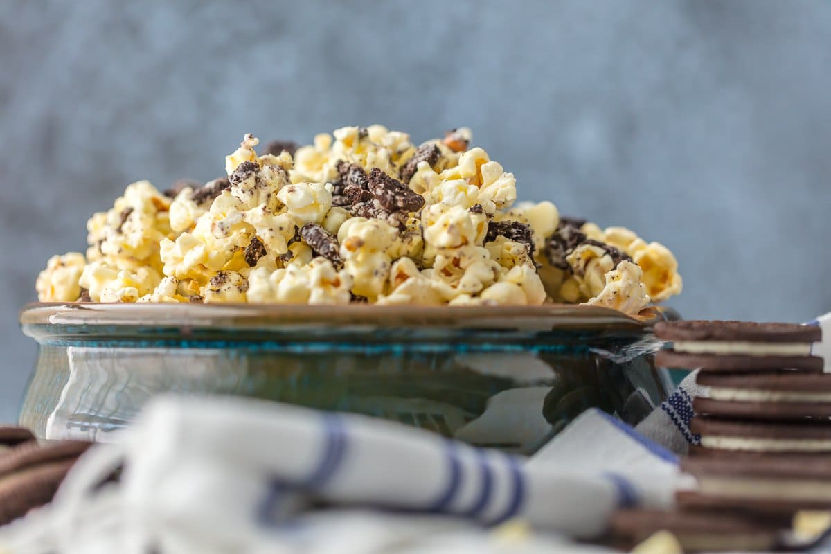Cookies and Cream popcorn recipe