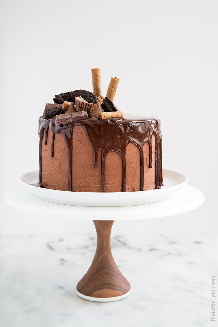 Death by Chocolate Cake | The Little Epicurean