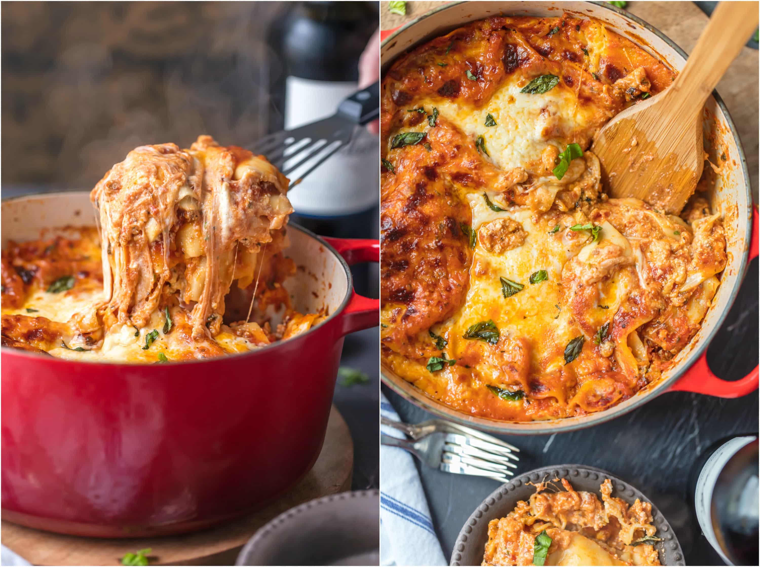 Dutch oven lasagna recipe stove top lasagna the cookie rookie dutch oven lasagna or stove top lasagna will blow your mind you forumfinder