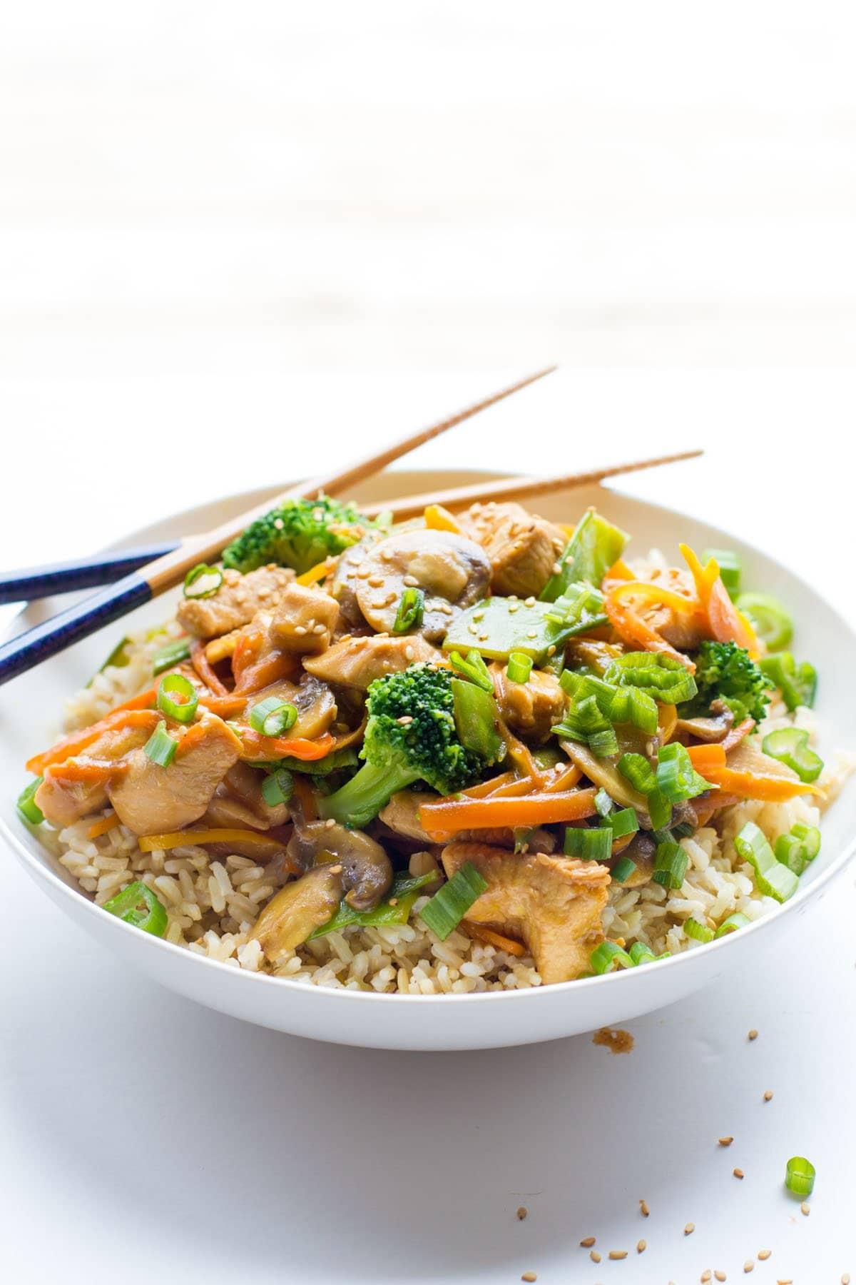 Healthy Chicken Stir Fry | Wholefully