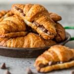Sheet Pan Chocolate Croissant Recipe