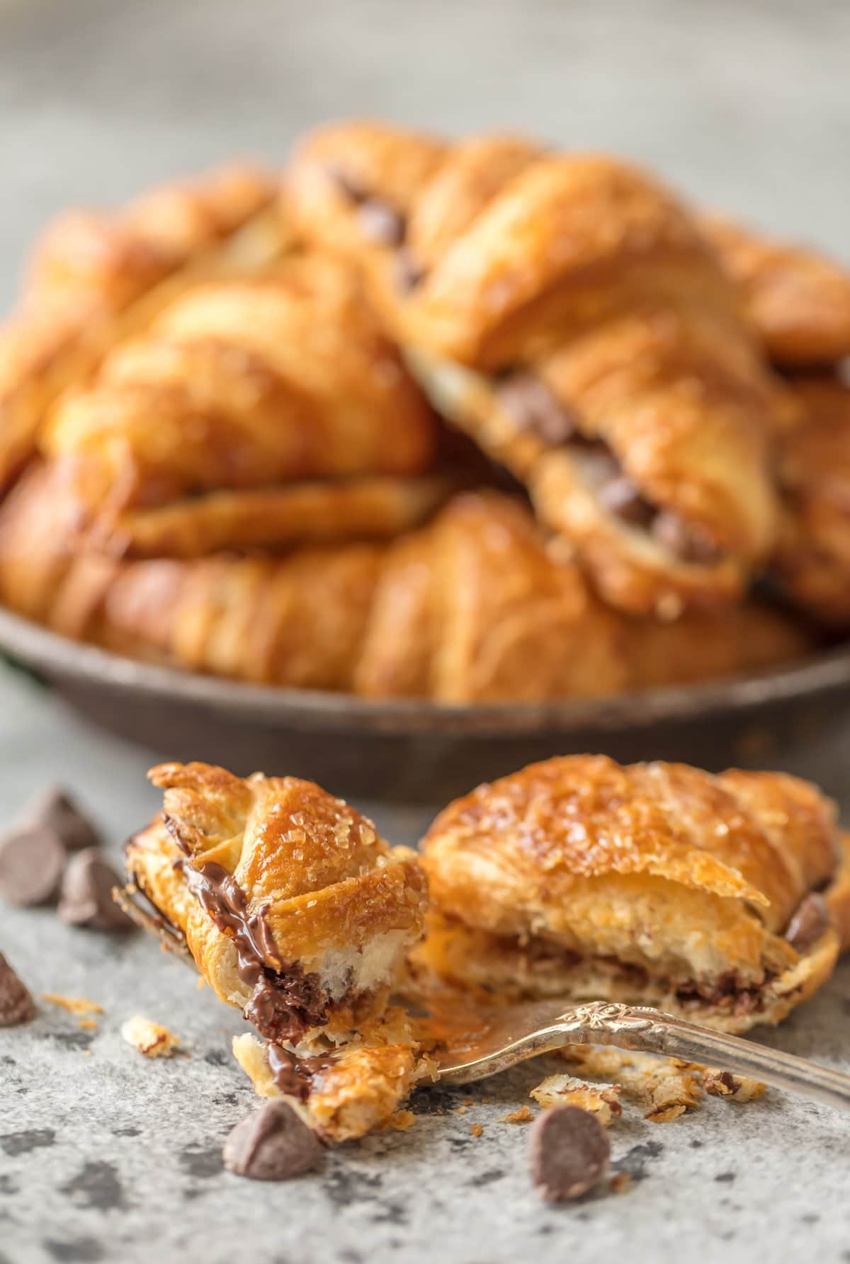 Chocolate Croissant Recipe Easy Chocolate Croissants For