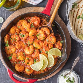 Skillet Chipotle Shrimp