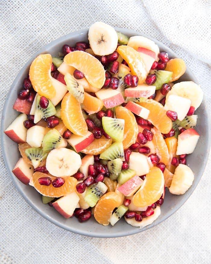 Winter Fruit Salad | Like Mother, Like Daughter