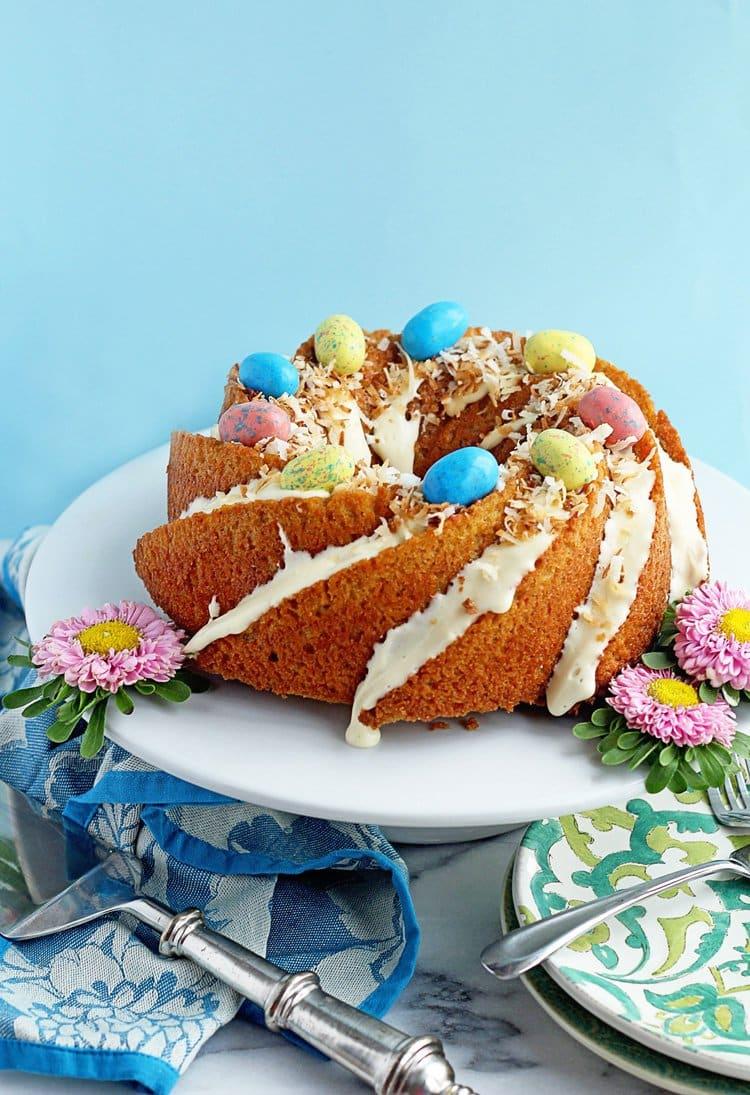 Easy Carrot Cake Pound Cake | Grandbaby Cakes