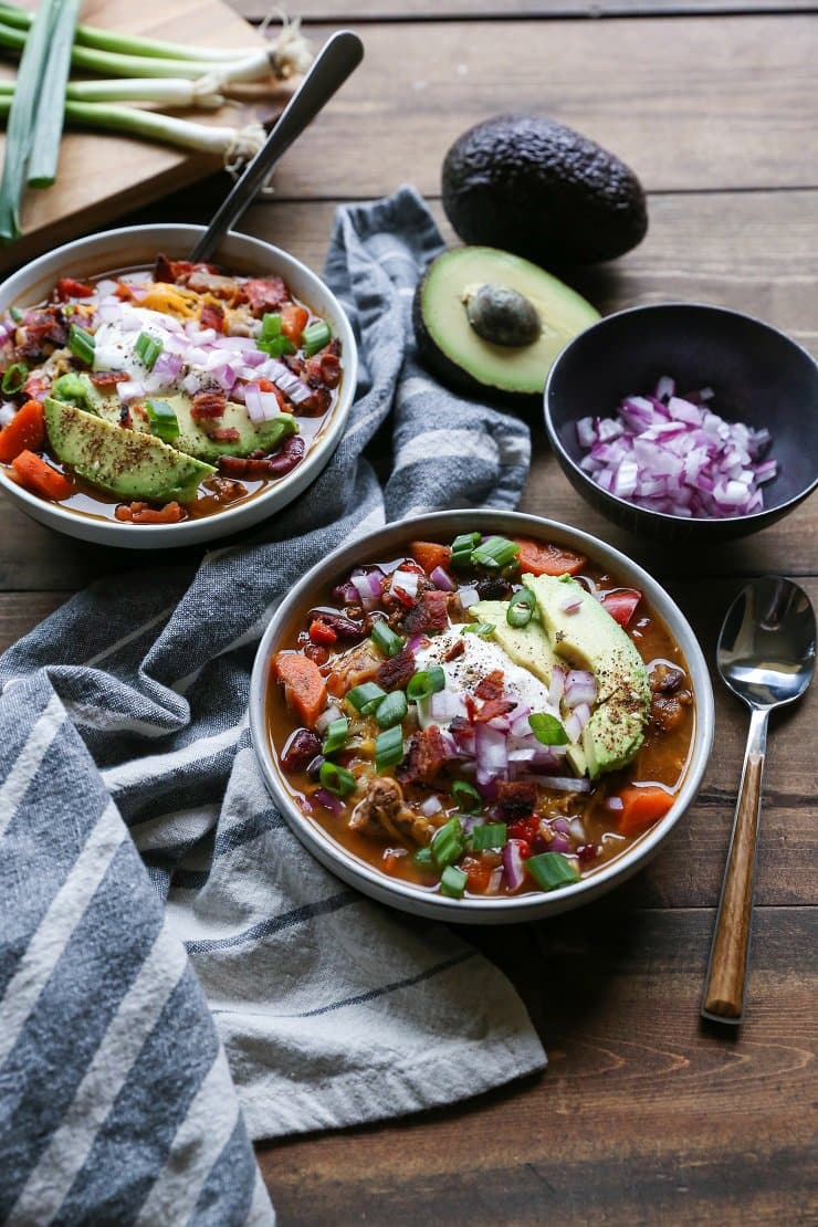 Loaded Turkey Chili | The Roasted Root
