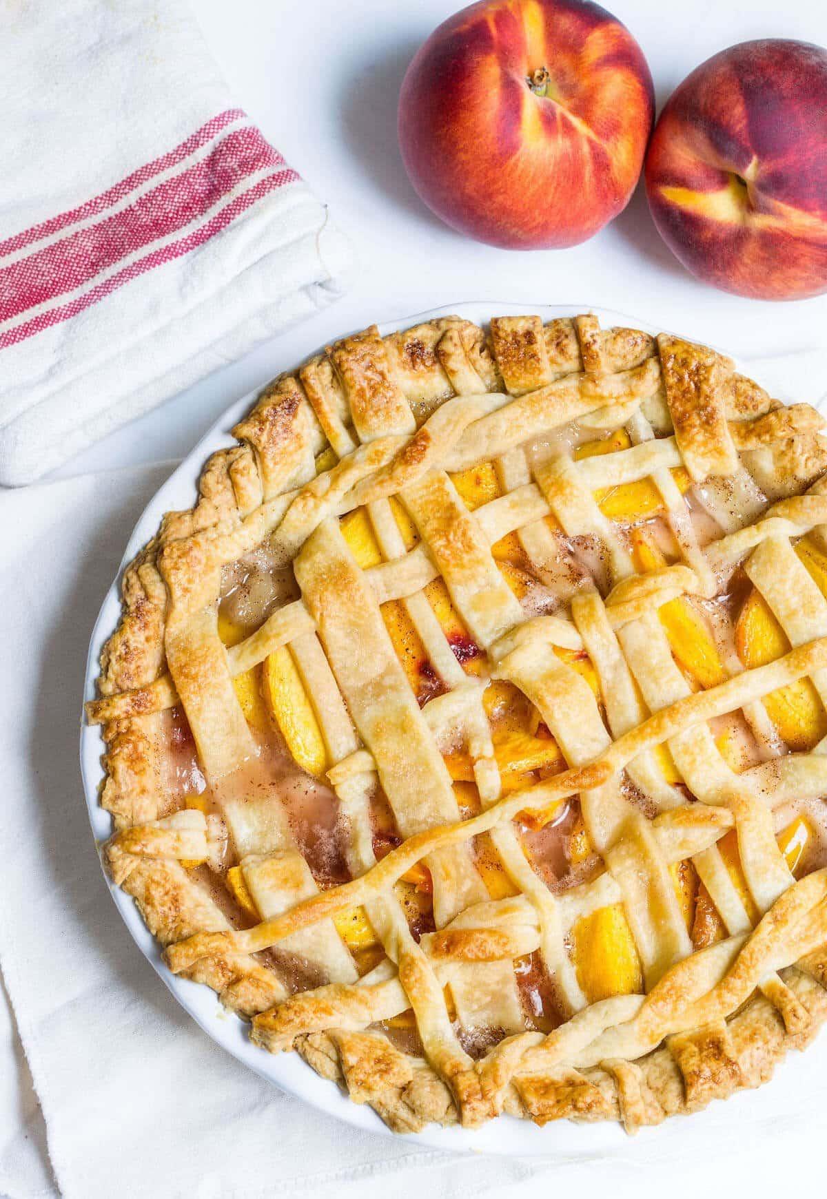 Peach Pie | Mon Petit Four