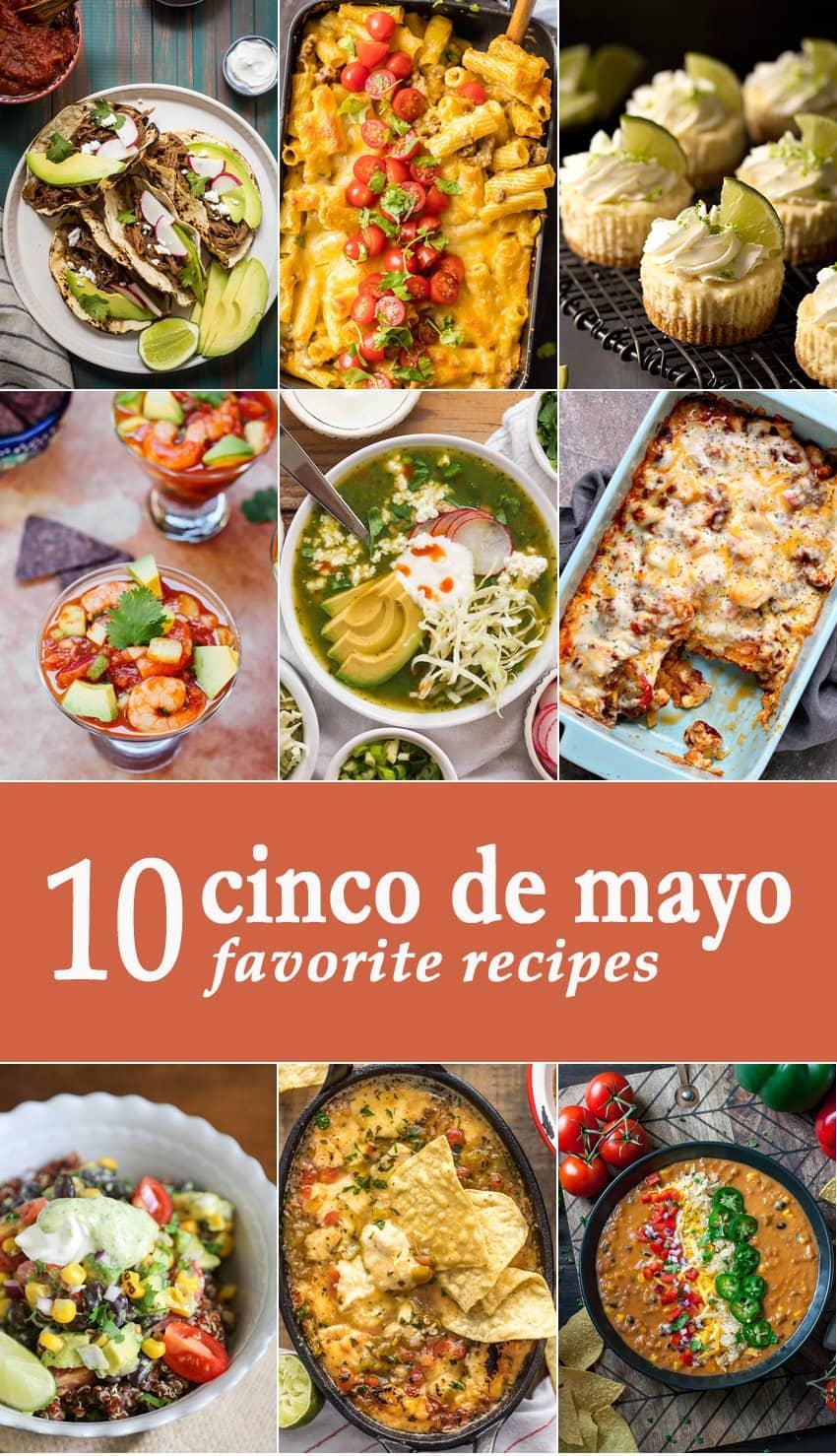 10 Favorite Cinco de Mayo Recipes