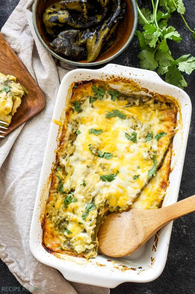 Easy Chile Rellenos Casserole | Spoonful of Flavor