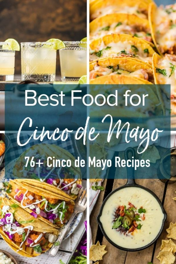 These Cinco de Mayo recipes need to be on your menu this May 5th. All the best drinks, dips, and appetizers, including margaritas and lots of chips and dip. These Tex-Mex recipes are my favorite Cinco de Mayo food, hands down!