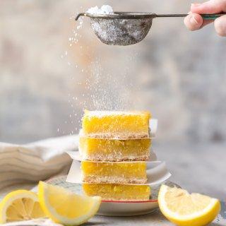 Gluten Free Lemon Bars (BEST EVER)