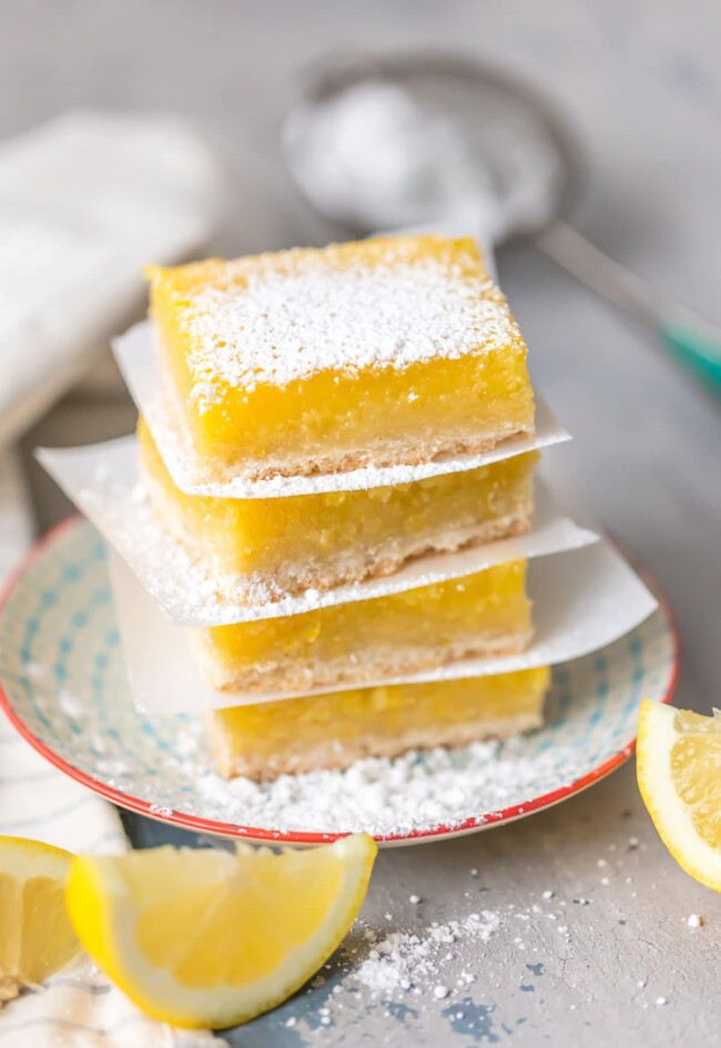 Lemon Bars is a Free Recipe by Becky Hardin from The Cookie Rookie!