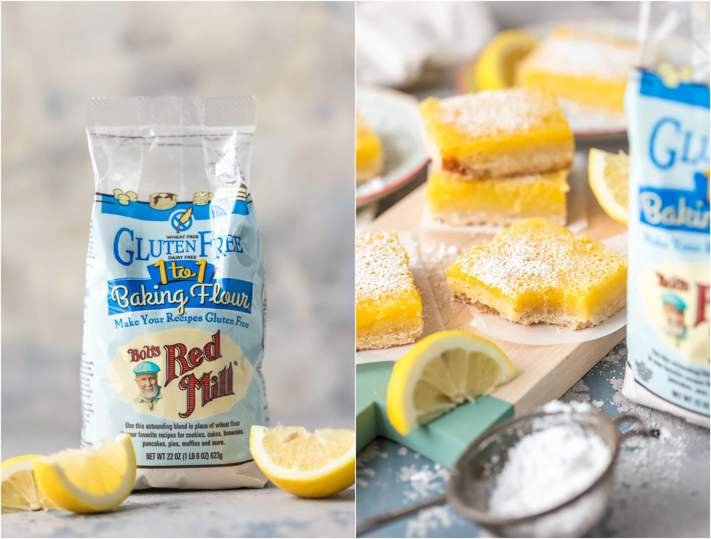 bobs red mill gluten free flour for lemon bars