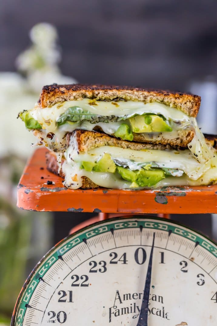 Green Goddess Grilled Cheese | The Cookie Rookie
