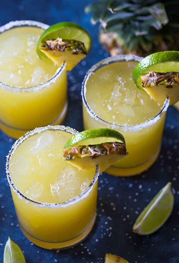 Pineapple Margarita | The Blond Cook