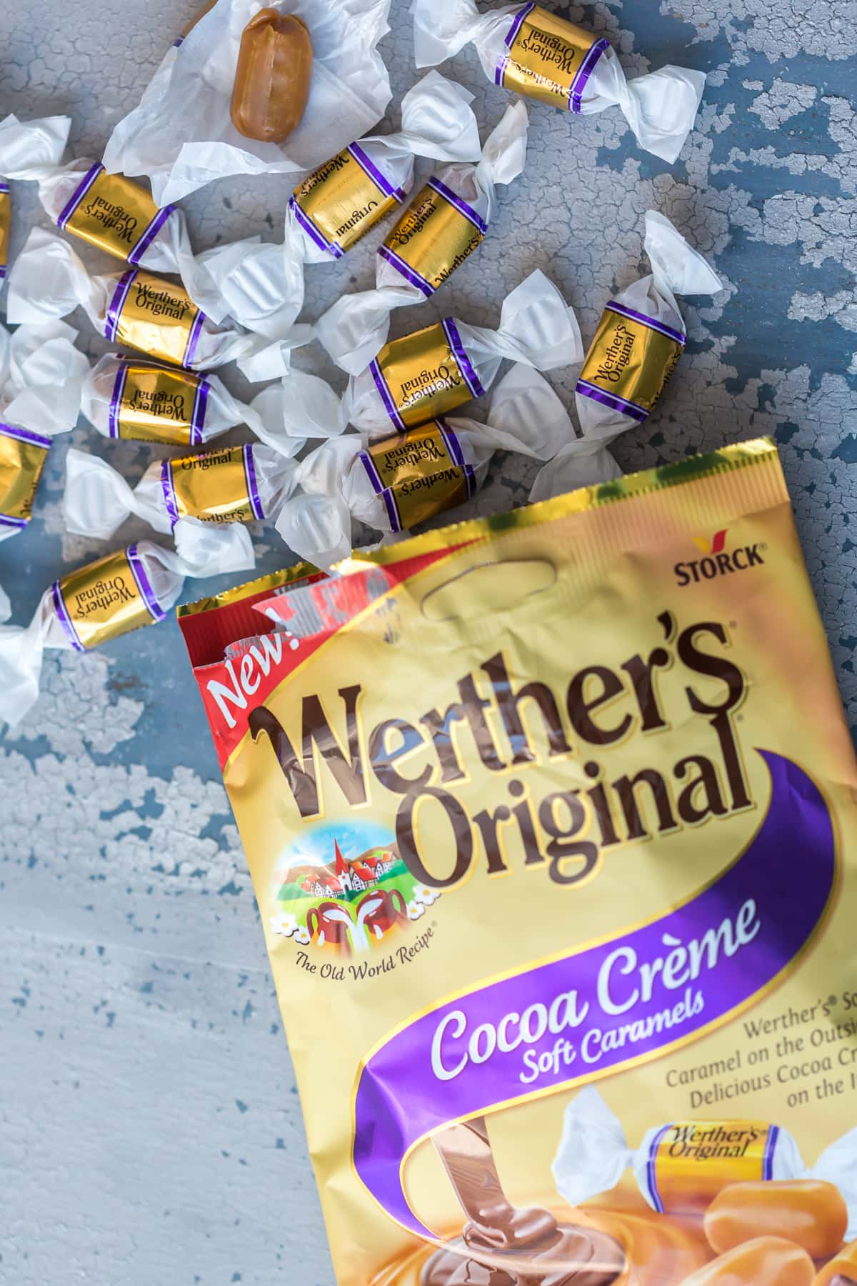 werthers cocoa creme caramels