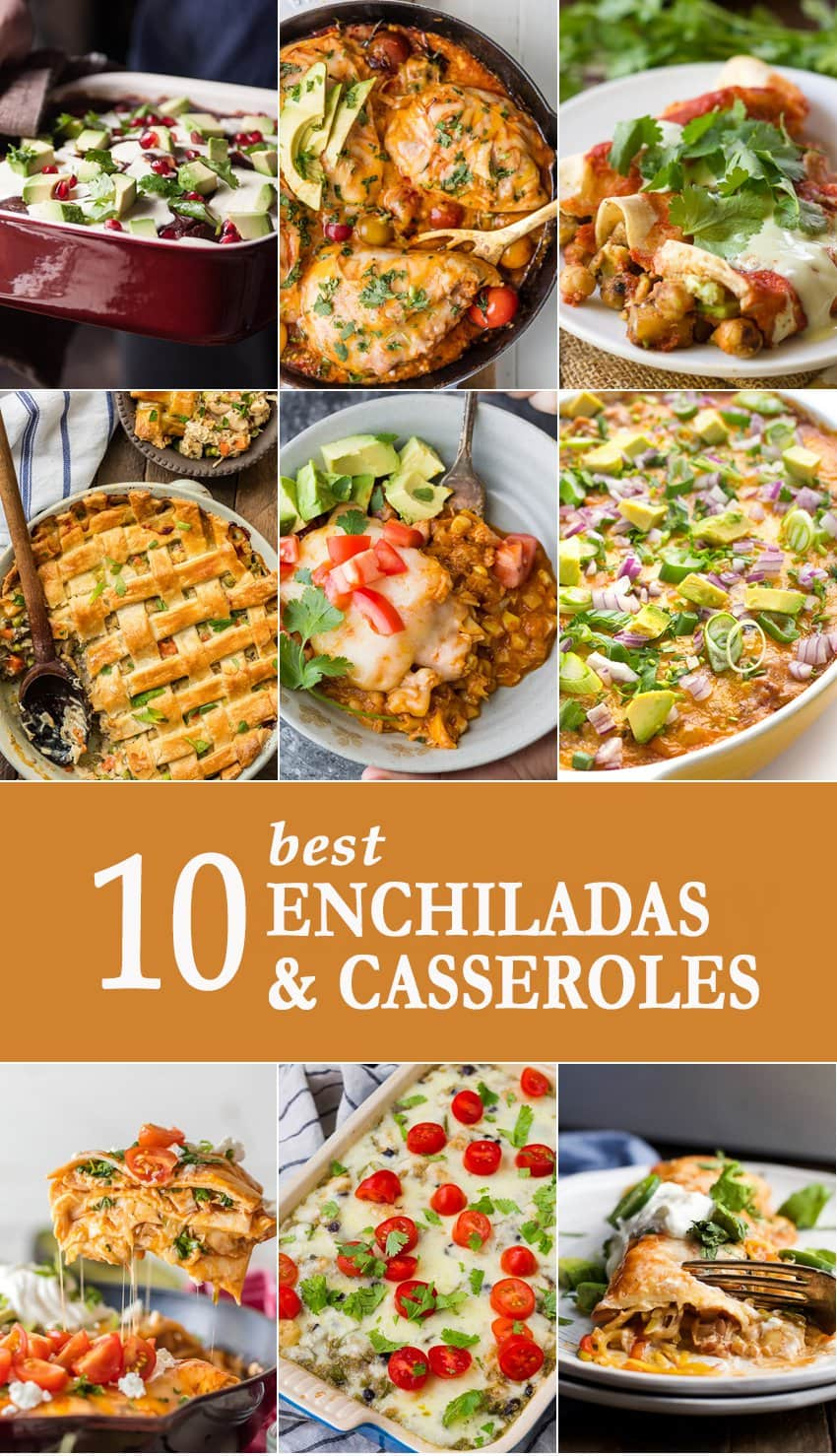 10 Best Enchiladas and Casseroles