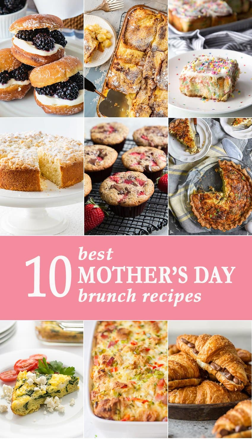 10 Best Mothers Day Brunch Recipes The Cookie Rookie