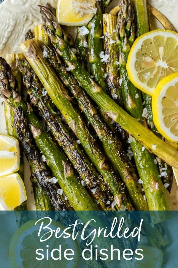 Best Grilled Side Dishes: Grilled Asparagus with lemon