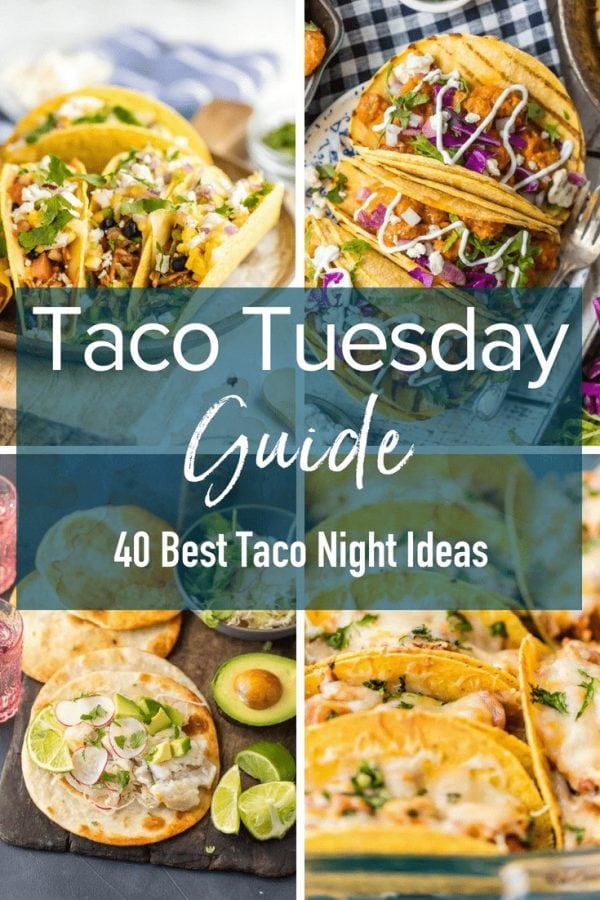 Taco Tuesday is everyone's favorite night. A night filled with family, tacos, and all of the best food. Here are some of the best taco night ideas to inspire your feast!