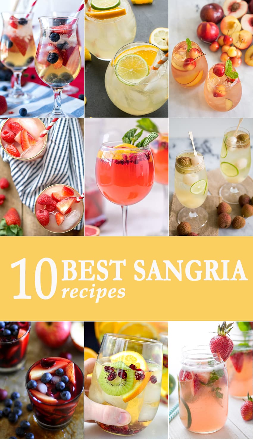 10 Best Sangria Recipes