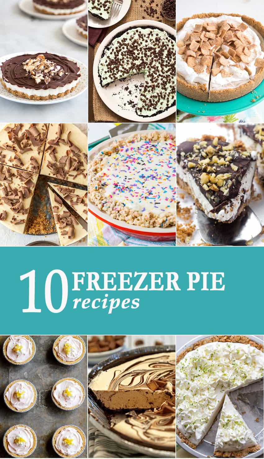 10 Freezer Pie Recipes
