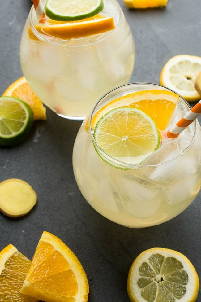 White Wine Sangria | The Lemon Bowl