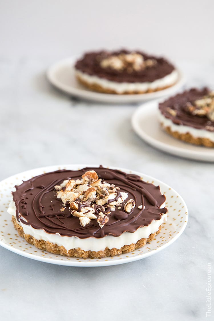 Banana Coconut Pretzel Tart | The Little Epicurean