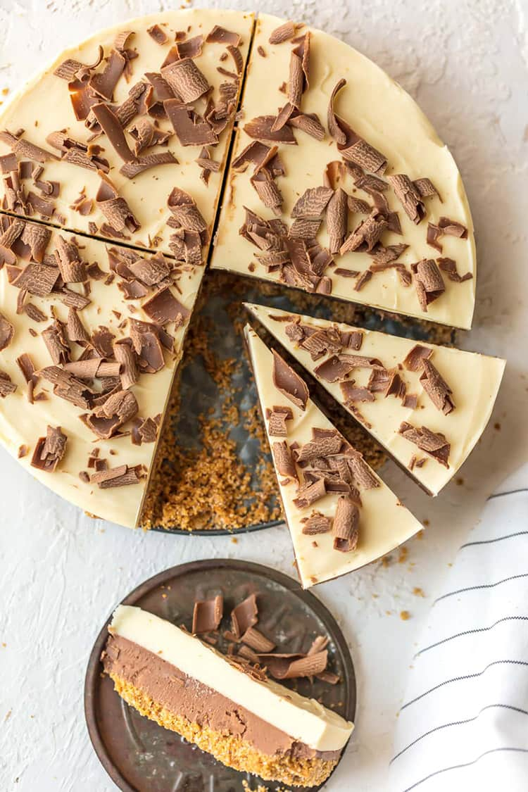 French Silk Pie Fudge | The Cookie Rookie