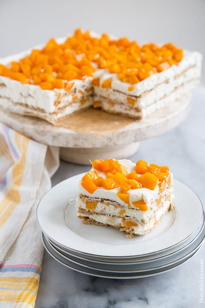 Mango Royale (Filipino Ice Box Cake) | The Little Epicurean