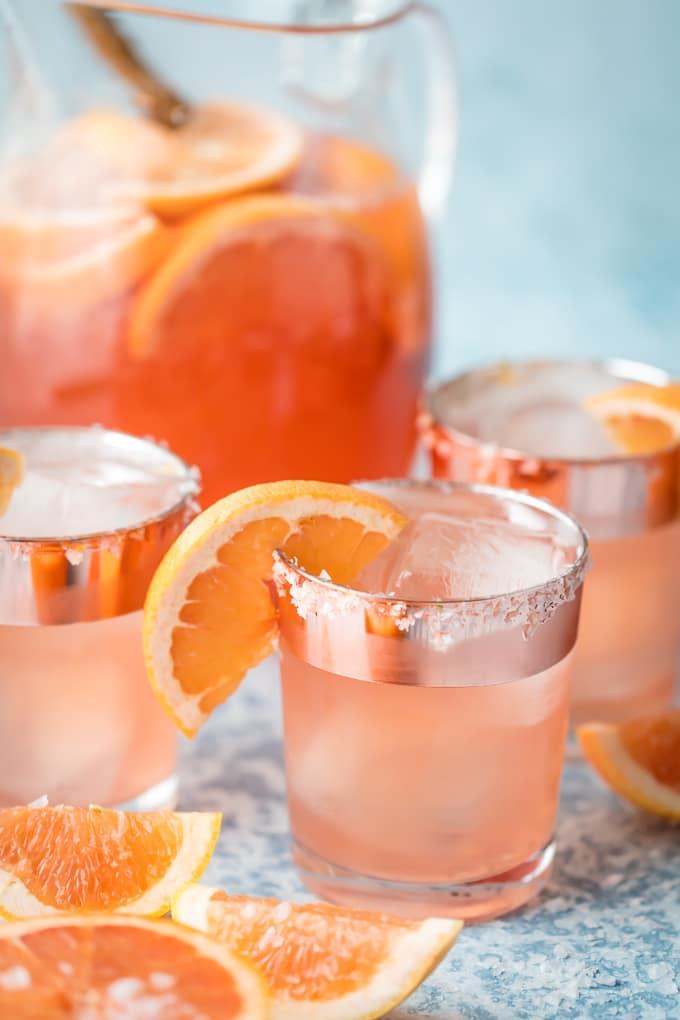 Grapefruit Vodka Sangria recipe