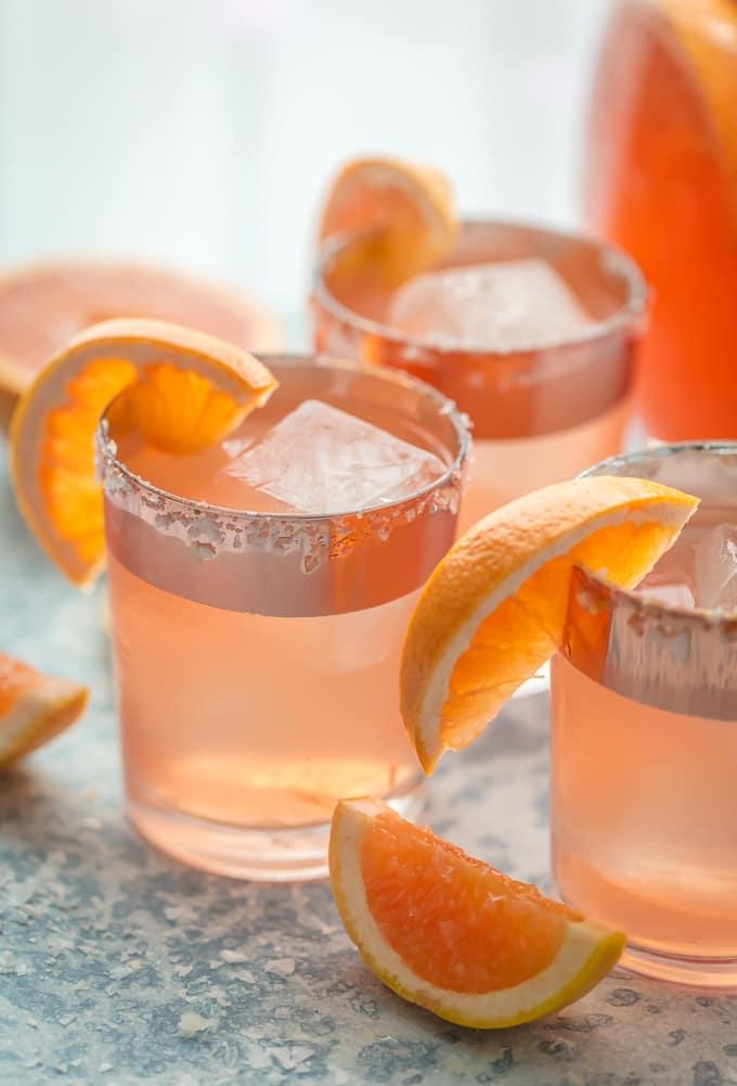 Grapefruit Vodka Sangria