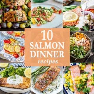 10 Salmon Dinners