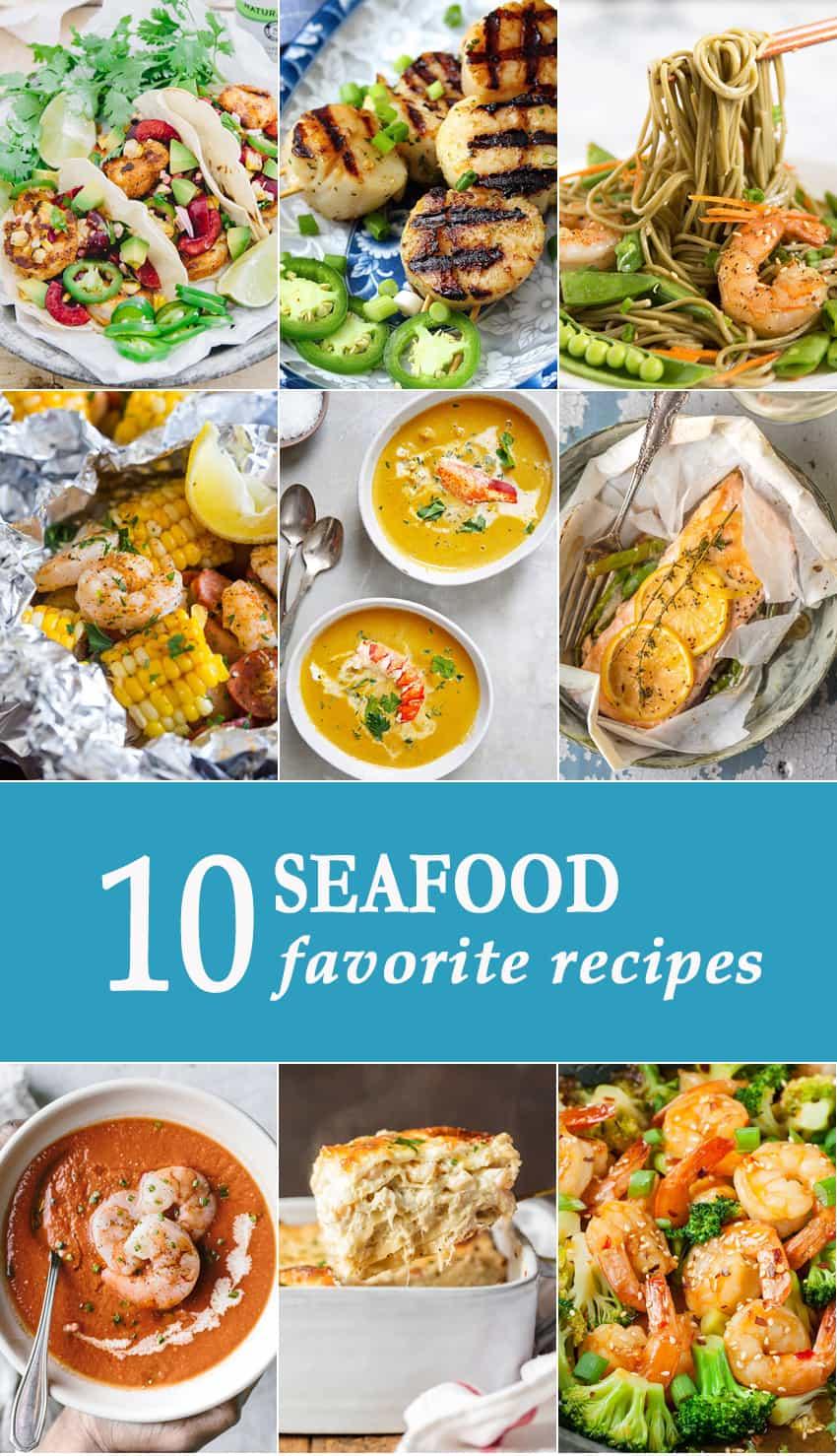 10 Seafood Favorite Recipes