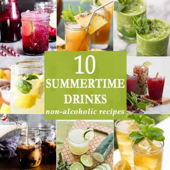 10 Summertime Drinks | The Cookie Rookie