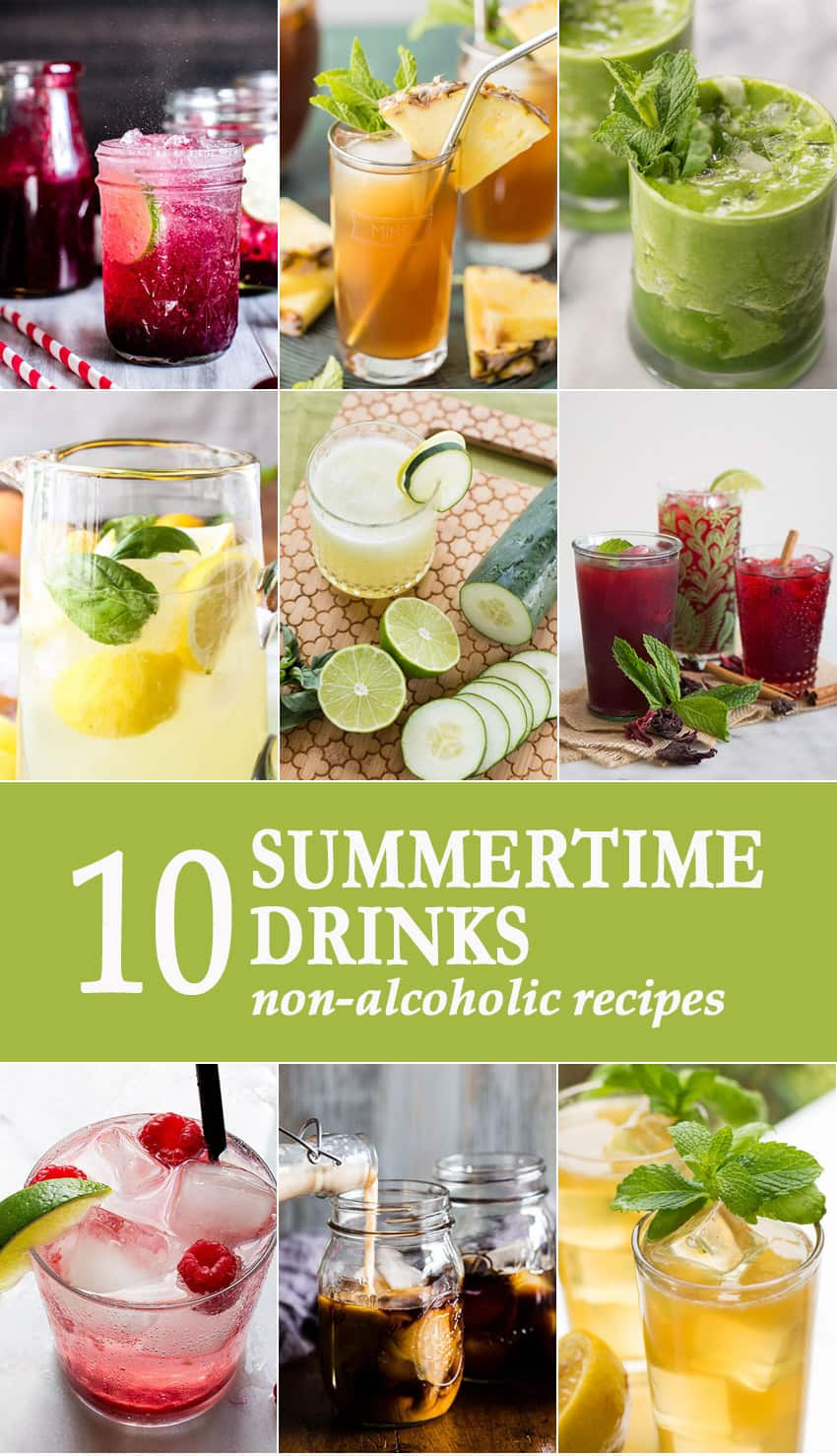 10 Summertime Drinks