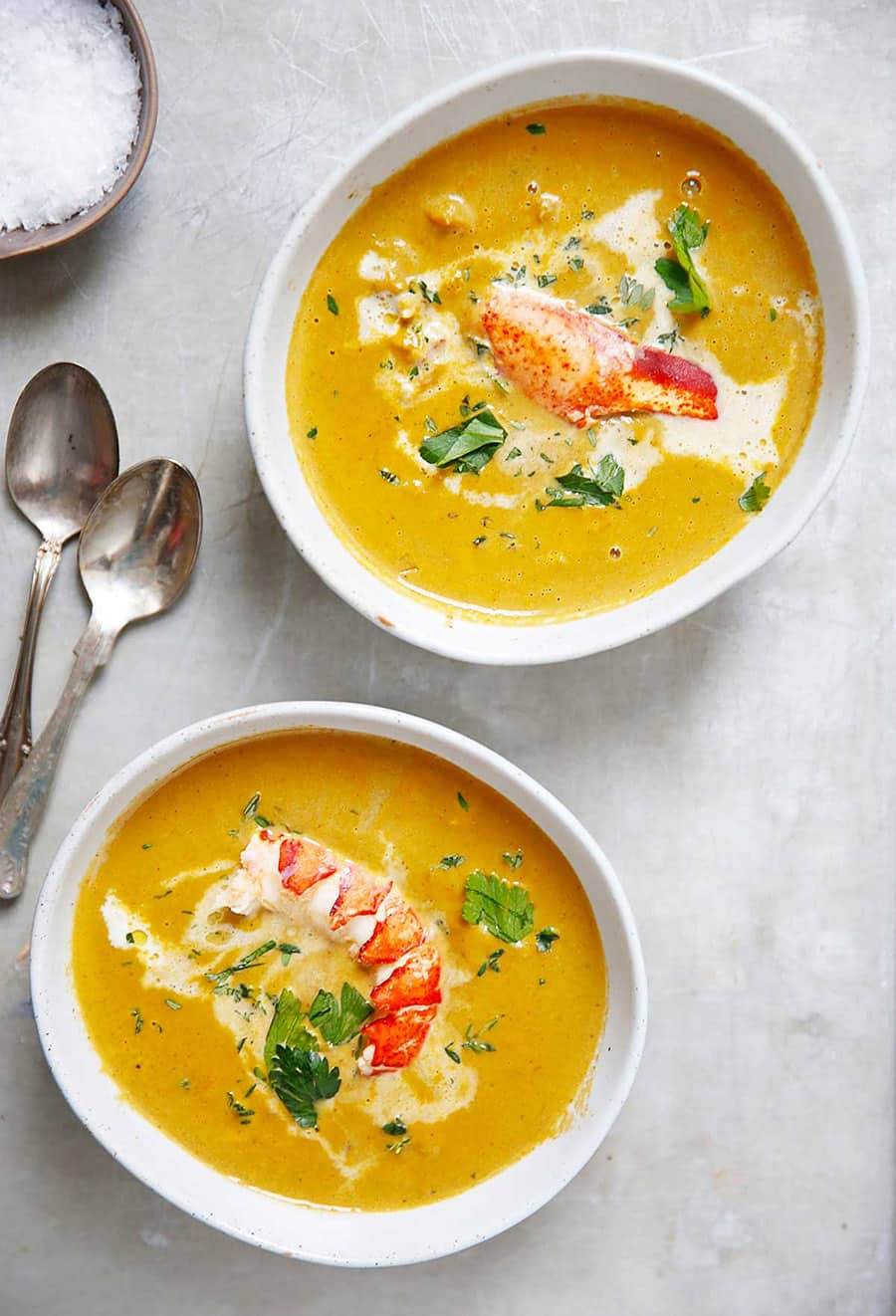 Classic Lobster Bisque | Lexi's Clean Kitchen