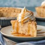 Caramel Apple Freezer Pie