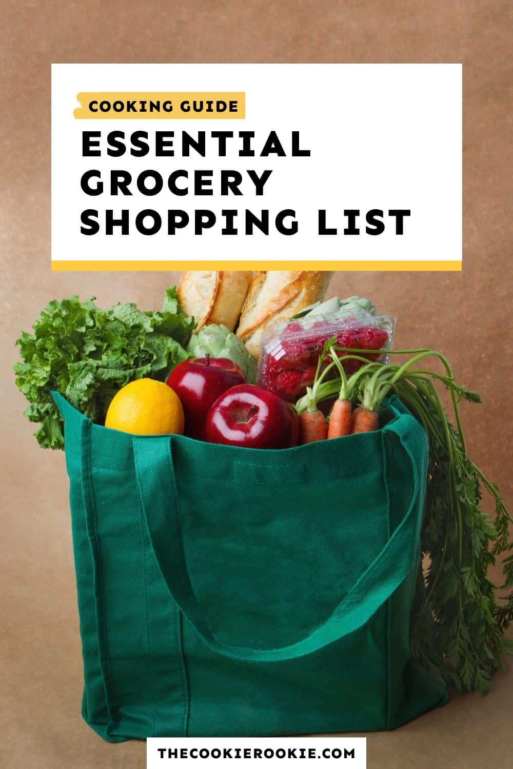 essential grocery list