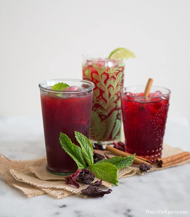 Hibiscus Tea | The Little Epicurean