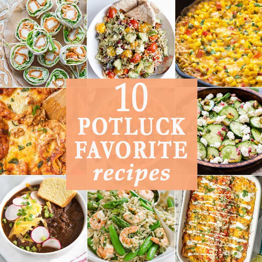 10 Potluck Favorite Recipes