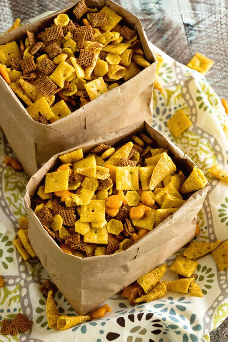 Ranch Snack Mix | Julie's Eats and Treats
