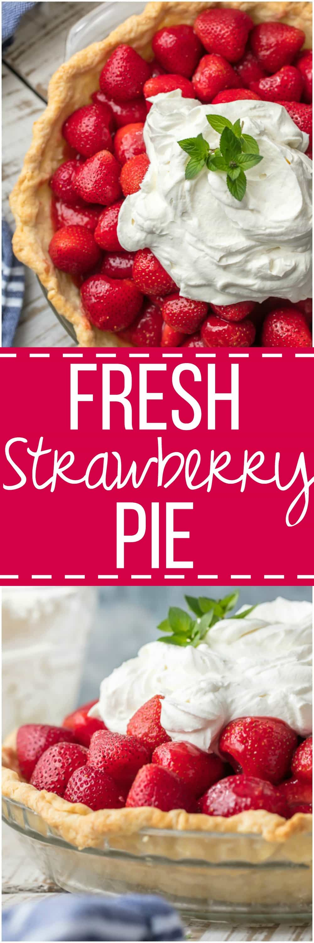 It wouldn't be a celebration without FRESH STRAWBERRY PIE! The ultimate gorgeous, delicious, and simple dessert just perfect for every occasion.