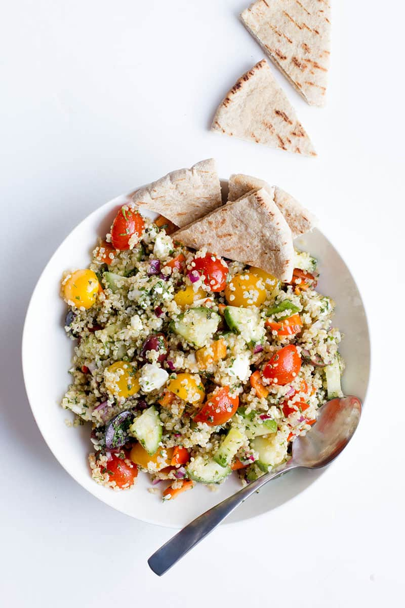 Greek Quinoa Salad | Wholefully