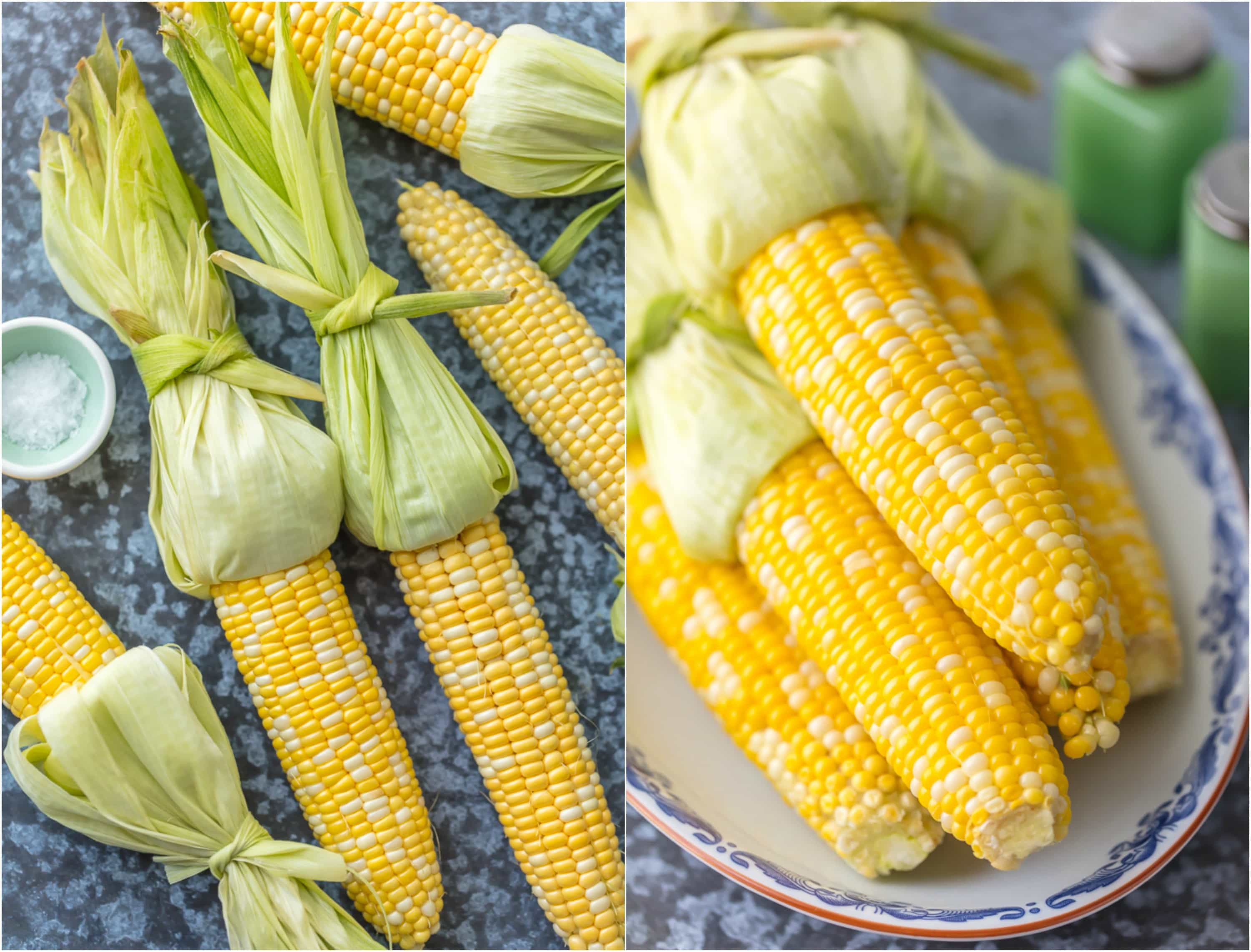 How to Cook Corn on the Cob: We have mastered all the tips and tricks for how long to boil corn on the cob, what to add in to make the corn extra tender and delicious, and fool-proof ways to cook to perfection EVERY time. This Perfect Corn on the Cob is our very favorite Summer Side Dish.